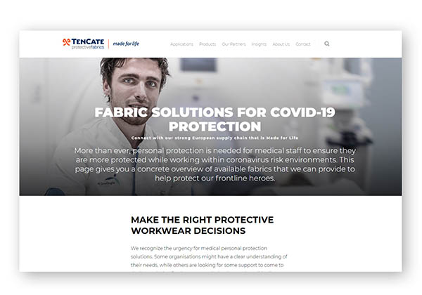covid-product-page